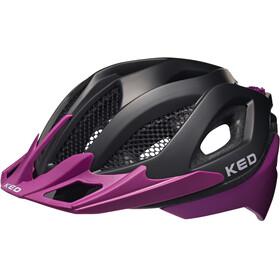 KED Spiri Two Helmet Black Matt/Violett